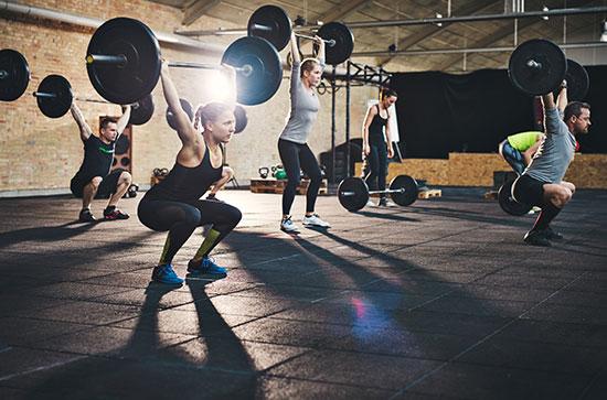 clase dirigida fitness
