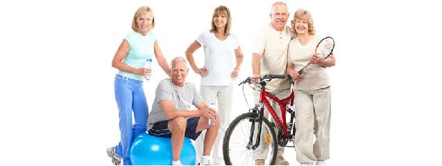 tercera edad usuarios de centros deportivos