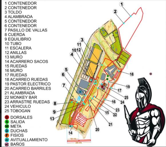 mapa gladiator aragón