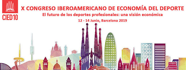 X Congreso Iberoamericano de Economía del Deporte (CIED).